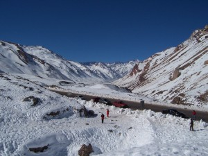 what about melted snow from the Andes?