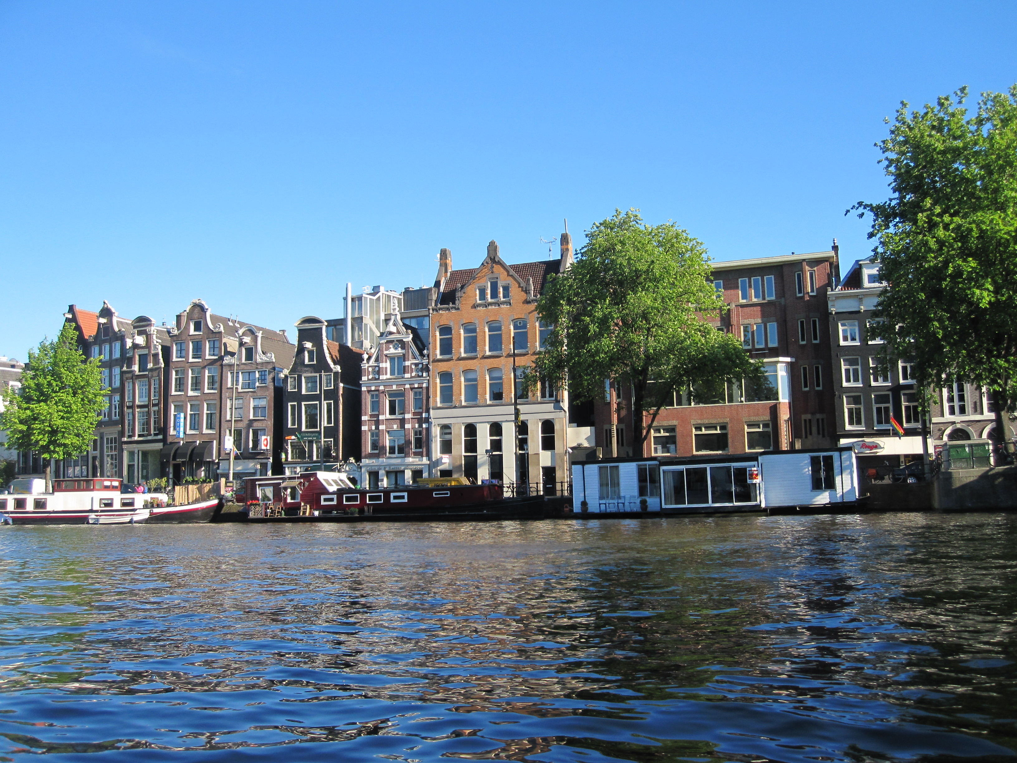 Amsterdam The Water Is Not That Pristine Greengopost Com