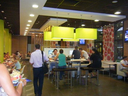 McDonald's, Downtown Belgrade