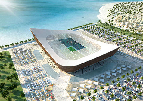 Al Shamal Stadium, a proposed 2022 World Cup venue