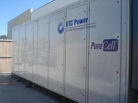 Fuel Cell by UTC at the Claremont Albertson's