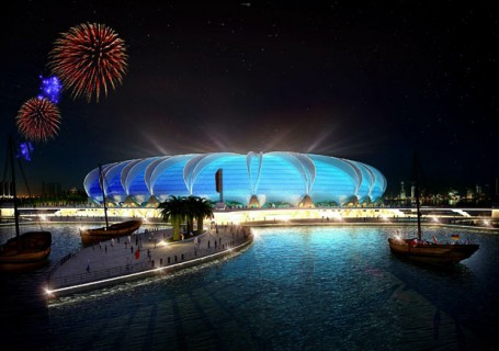 Doha Port Stadium, to be a 2022 World Cup Venue