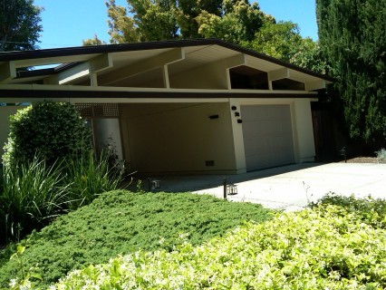 Another unassuming Eichler in Cupertino