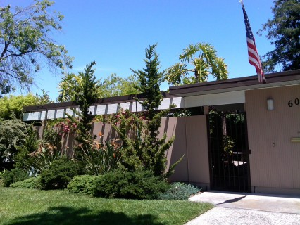 A bit of Americana tied to an Eichler, Silicon Valley