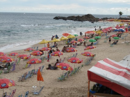 beach in the neighborhood of Barra, Salvador