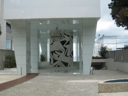 Lobby of apartment building, Vitoria, Salvador