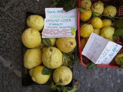 The gorgeous incomparable Amalfi Lemons