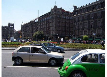 Zocalo, Mexico City, courtesy Leon Kaye