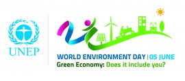 World Environment Day is June 5, 2012