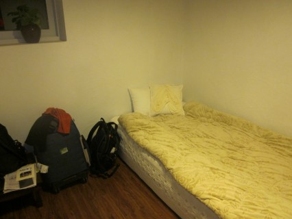 My room at 126 Mansion: cozy, warm and comfortable