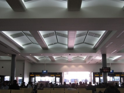 Terminal 2 gate area, Dubai International Airport