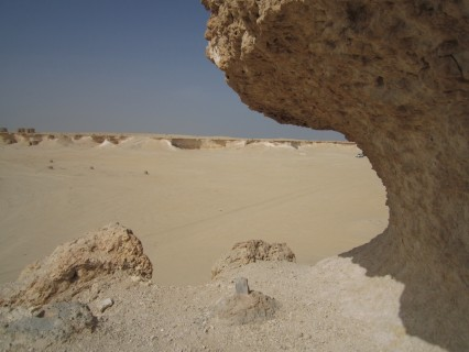 The gypsum and ancient coral formations are stunning