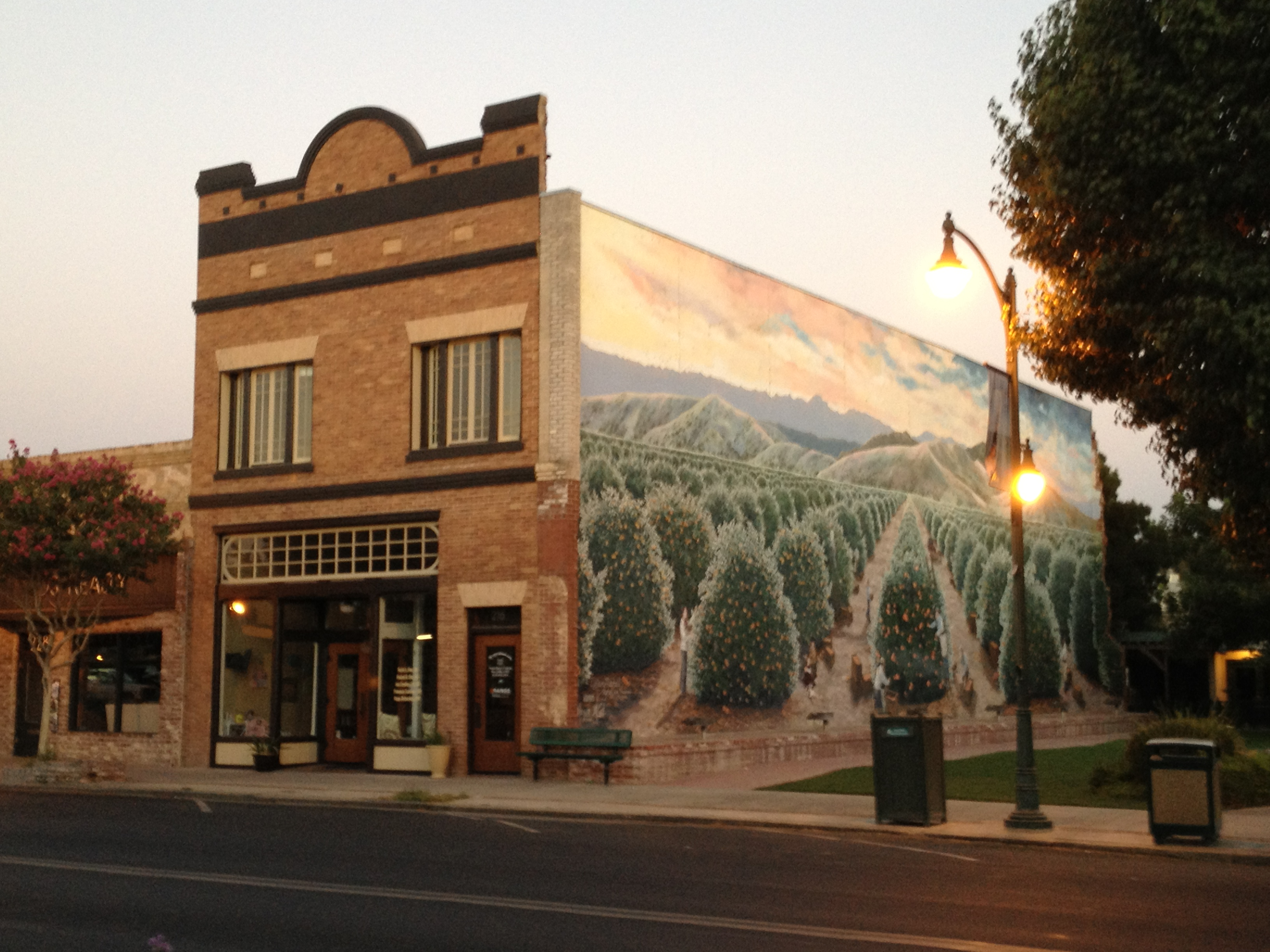 Exeter murals american local art at its finest for California mural