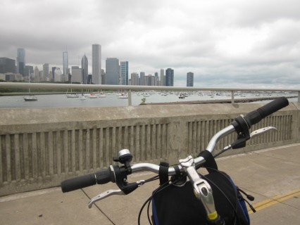Chicago, bicycling in Chicago, bicycling, Rahm Emanuel, travel, Lakefront Trail, Obama house chicago, Bike and Roll, Lake Michigan, downtown loop, south side of Chicago, Leon Kaye