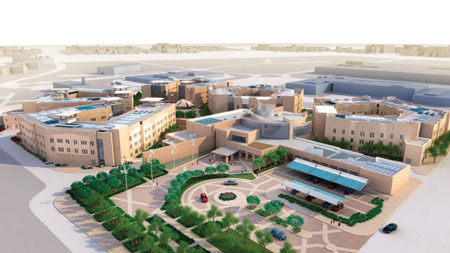 Qatar, Doha, Education City, sustainability, green building, Qatar Foundation, Chris Silva, solar, water recycling, architecture, Chris Silva, energy efficiency, LEED, Qatar University