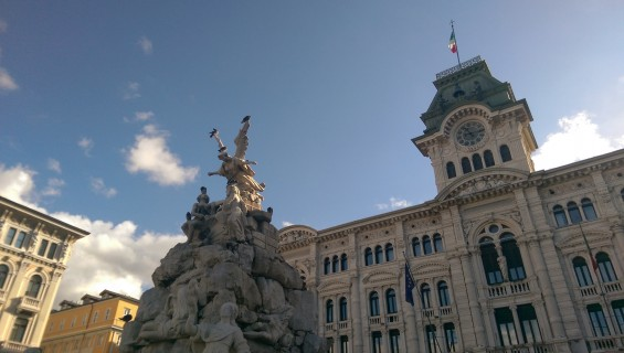 Trieste, Italy, travel, the Balkans, southeastern Europe, Miramare Castle, rail, Piazza Unità d'Italia, architecture