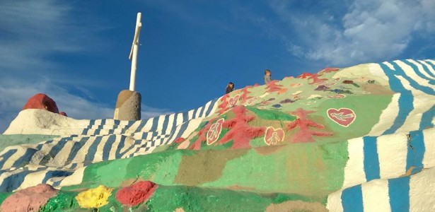 Salvation Mountain a Glorious Temple of Color in California's Desert