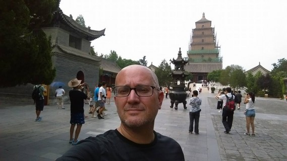 Xian, China, architecture, Big Goose Pagoda, Buddhism, travel