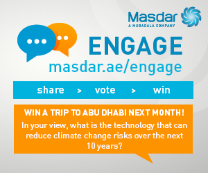 Masdar's 5th Annual Engage Social Media Contest Launches! Win a Trip to Abu Dhabi!