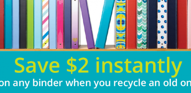 Office Depot and TerraCycle Partner on Binder Recycling
