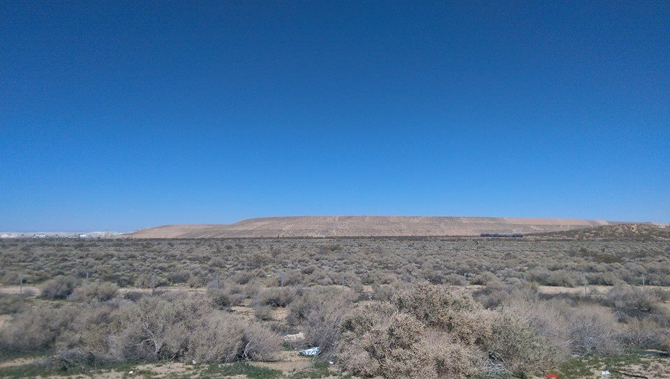 The view of the Mojave from Boron
