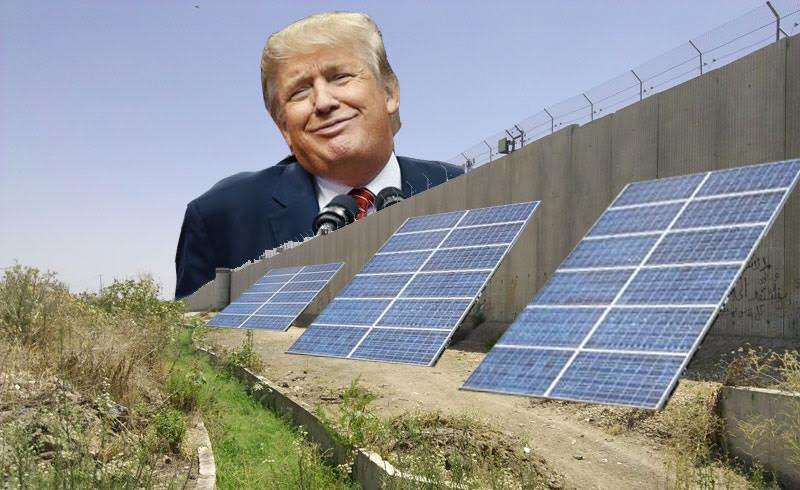 Donald Trump, border wall, Leon Kaye