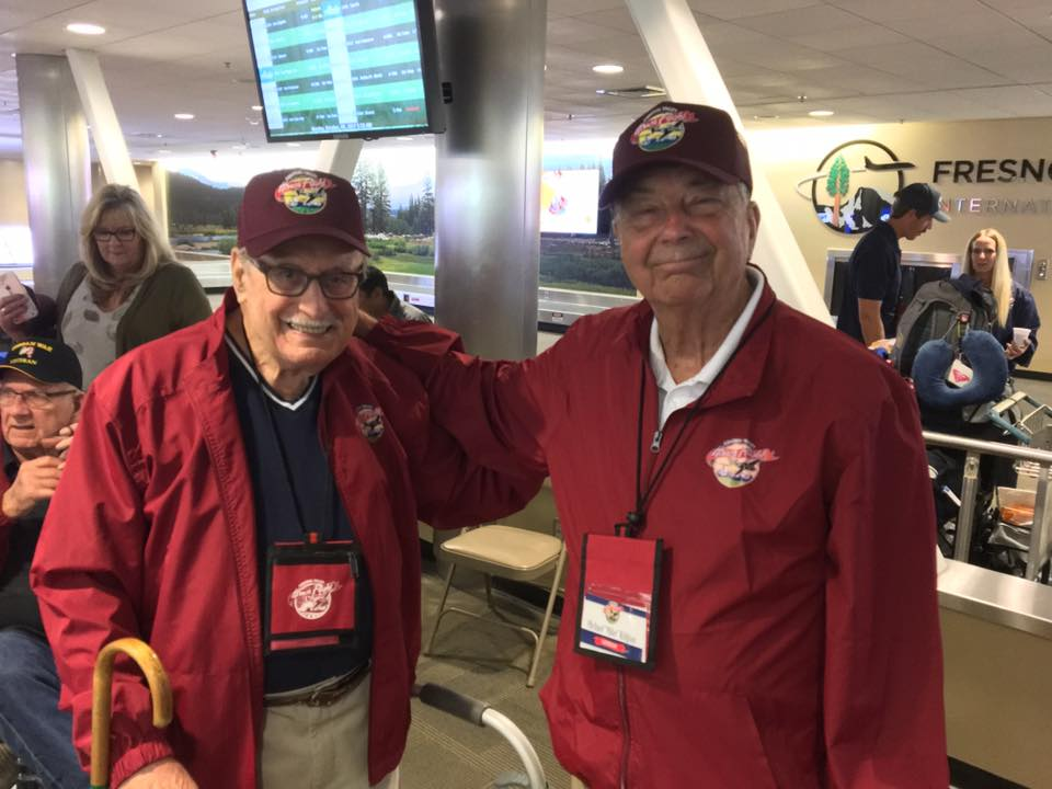Veterans, travel, Leon Kaye, Fresno, San Joaquin Valley, Honor Flight Network